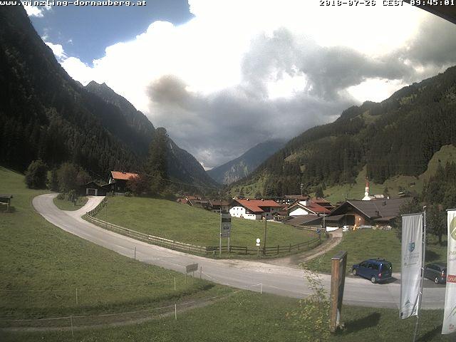 WEBkamera Ginzling, údolí Zemmtal